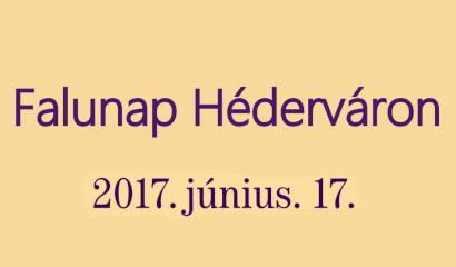Hédervári falunap