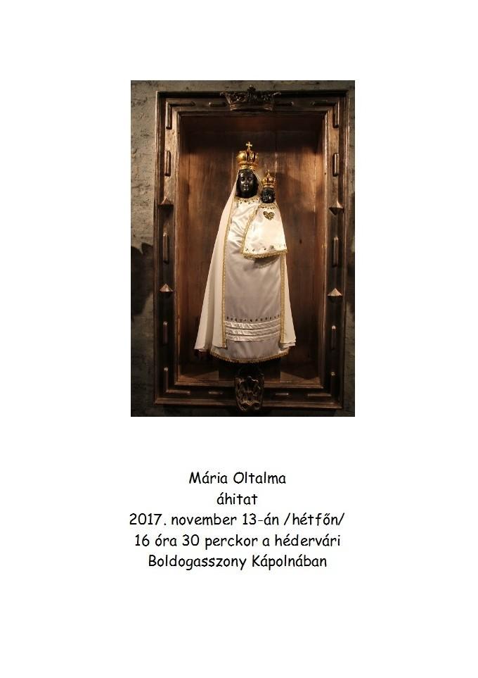 Mária Oltalma áhítat