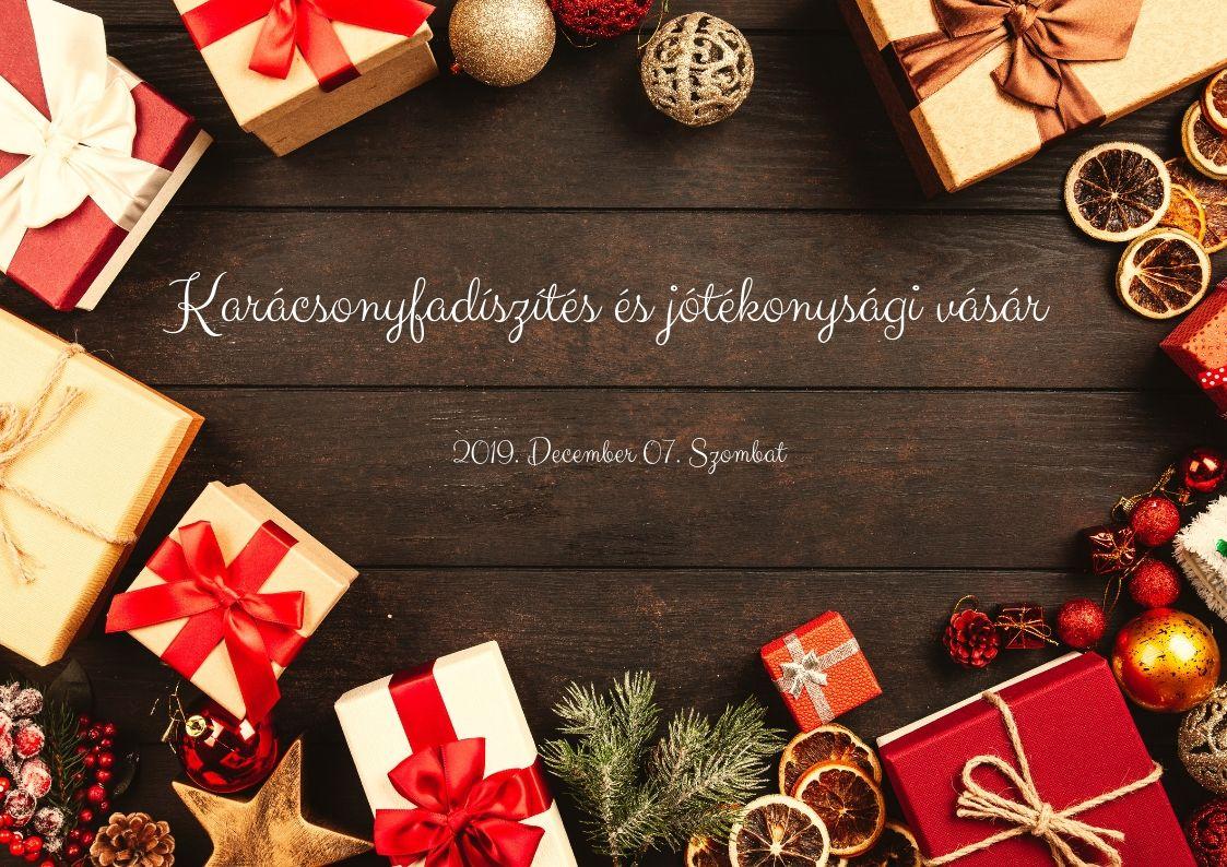 Karácsonyfadíszítés 2019