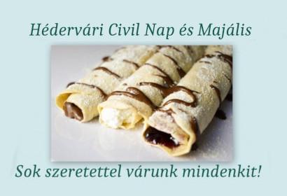 Civil nap és majális
