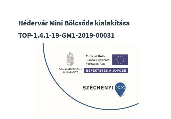 Hédervár Mini Manó Mini Bölcsõde